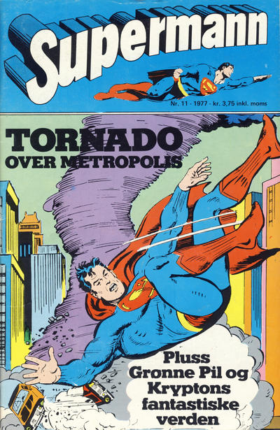 Cover for Supermann (Semic, 1977 series) #11/1977