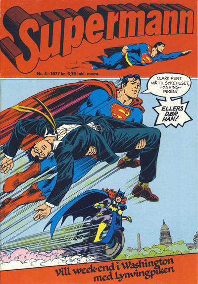 Cover for Supermann (Semic, 1977 series) #4/1977