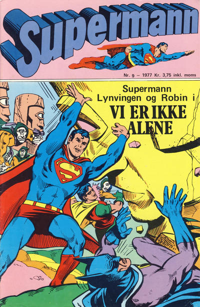 Cover for Supermann (Semic, 1977 series) #9/1977