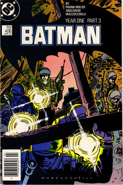 Cover for Batman (DC, 1940 series) #406 [Direct Edition]