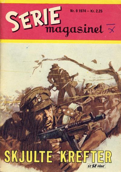 Cover for Seriemagasinet (Serieforlaget / Se-Bladene / Stabenfeldt, 1951 series) #9/1974