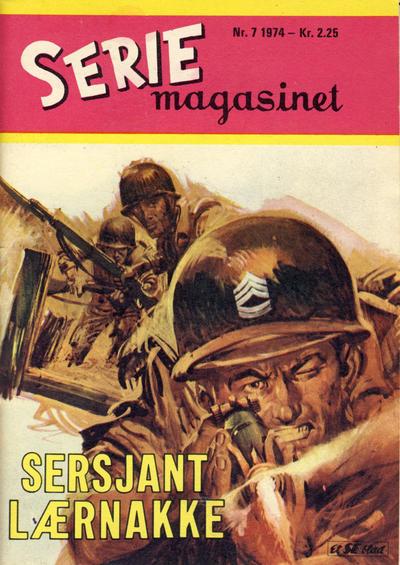 Cover for Seriemagasinet (Serieforlaget / Se-Bladene / Stabenfeldt, 1951 series) #7/1974