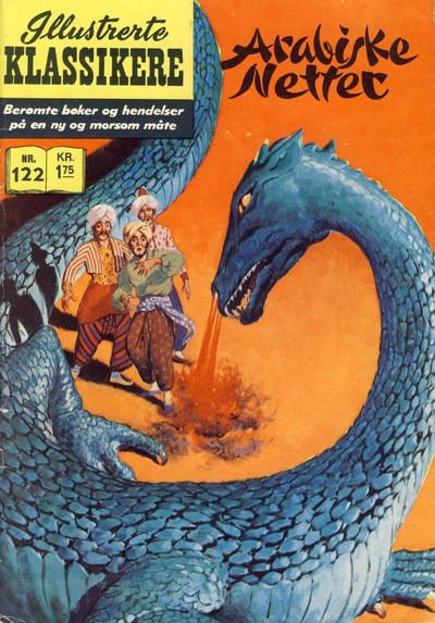 Cover for Illustrerte Klassikere [Classics Illustrated] (Illustrerte Klassikere / Williams Forlag, 1957 series) #122 - Arabiske netter [2. opplag]