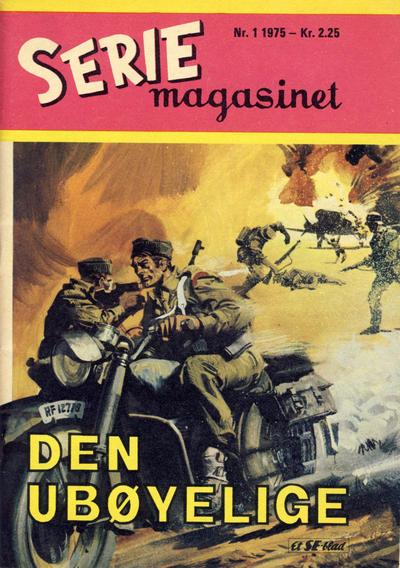 Cover for Seriemagasinet (Serieforlaget / Se-Bladene / Stabenfeldt, 1951 series) #1/1975