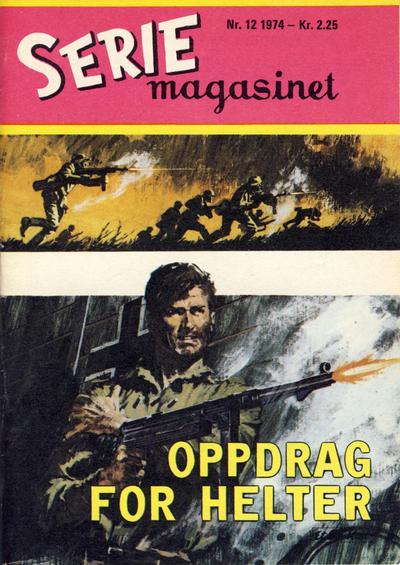 Cover for Seriemagasinet (Serieforlaget / Se-Bladene / Stabenfeldt, 1951 series) #12/1974