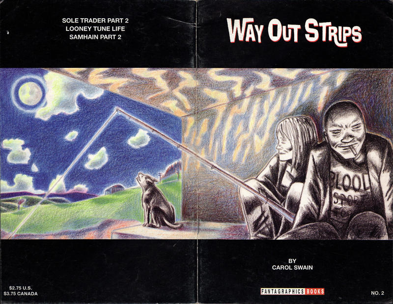 Cover for Way Out Strips (Fantagraphics, 1994 series) #2