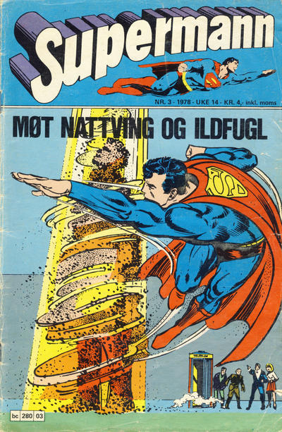 Cover for Supermann (Semic, 1977 series) #3/1978