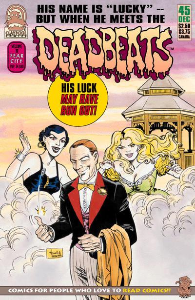 Cover for Deadbeats (Claypool Comics, 1993 series) #45