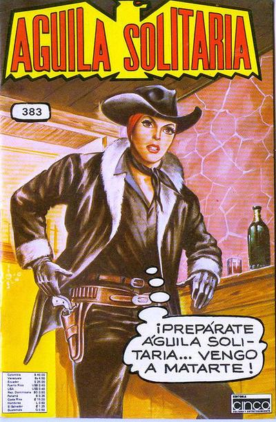 Cover for Aguila Solitaria (Editora Cinco, 1976 ? series) #383