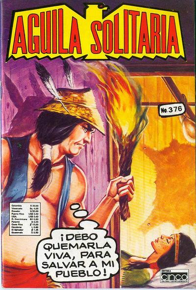 Cover for Aguila Solitaria (Editora Cinco, 1976 ? series) #376