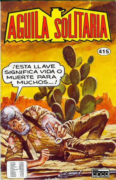 Cover for Aguila Solitaria (Editora Cinco, 1976 ? series) #415
