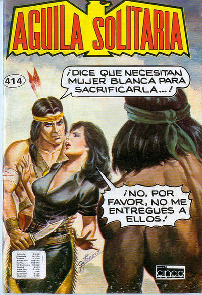 Cover for Aguila Solitaria (Editora Cinco, 1976 ? series) #414