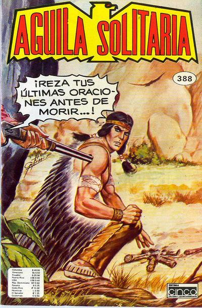 Cover for Aguila Solitaria (Editora Cinco, 1976 ? series) #388