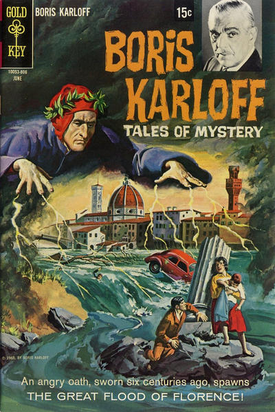 Cover for Boris Karloff Tales of Mystery (Western, 1963 series) #22 [12-Cent Variant]