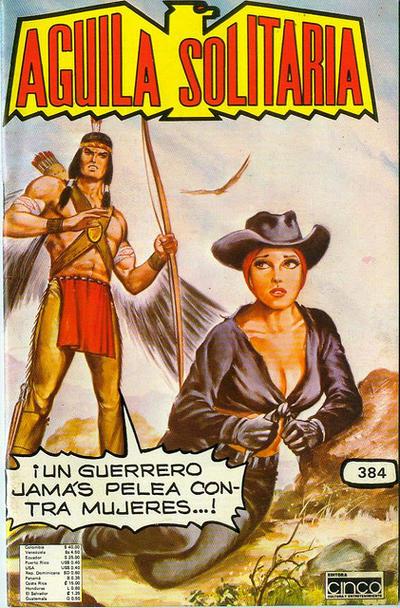 Cover for Aguila Solitaria (Editora Cinco, 1976 ? series) #384