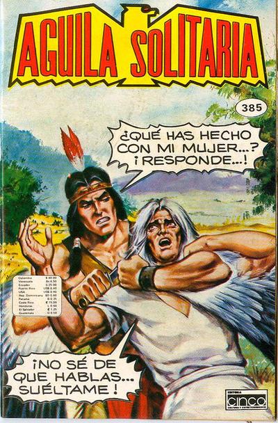 Cover for Aguila Solitaria (Editora Cinco, 1976 ? series) #385