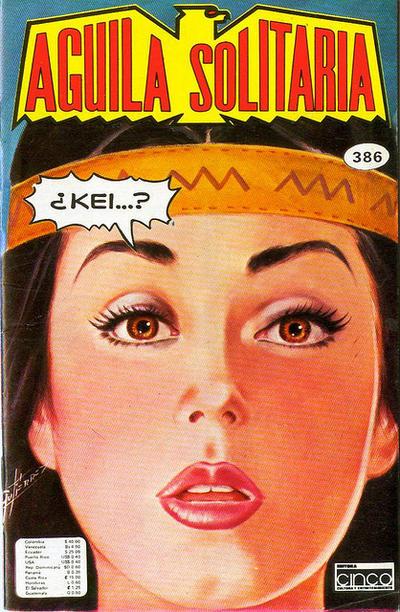 Cover for Aguila Solitaria (Editora Cinco, 1976 ? series) #386