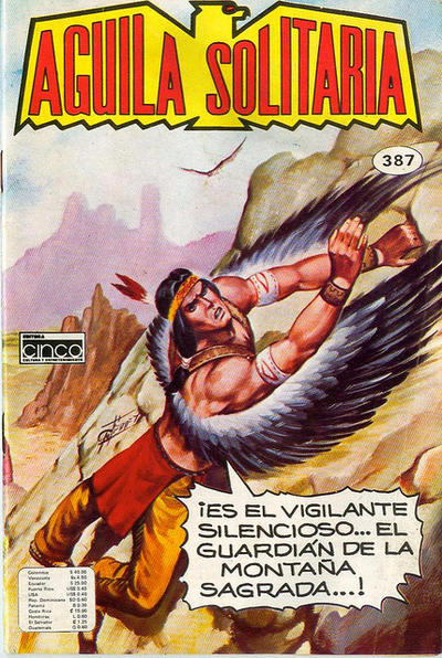 Cover for Aguila Solitaria (Editora Cinco, 1976 ? series) #387