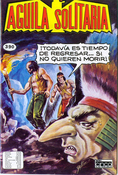 Cover for Aguila Solitaria (Editora Cinco, 1976 ? series) #390