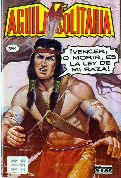 Cover for Aguila Solitaria (Editora Cinco, 1976 ? series) #394