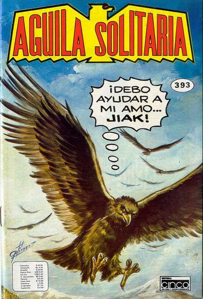 Cover for Aguila Solitaria (Editora Cinco, 1976 ? series) #393