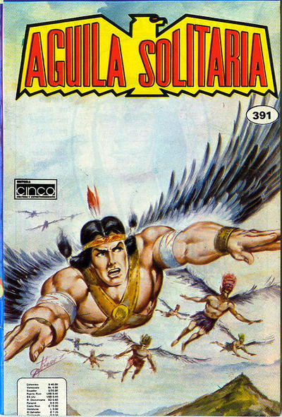 Cover for Aguila Solitaria (Editora Cinco, 1976 ? series) #391