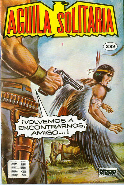 Cover for Aguila Solitaria (Editora Cinco, 1976 ? series) #399