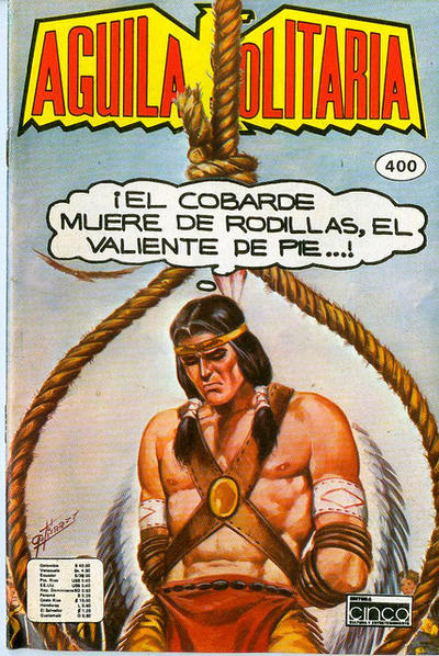 Cover for Aguila Solitaria (Editora Cinco, 1976 ? series) #400