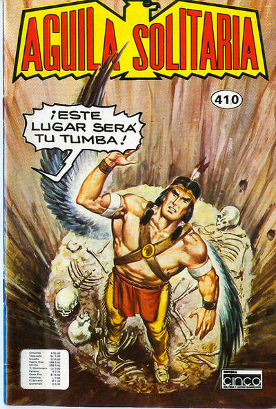Cover for Aguila Solitaria (Editora Cinco, 1976 ? series) #410