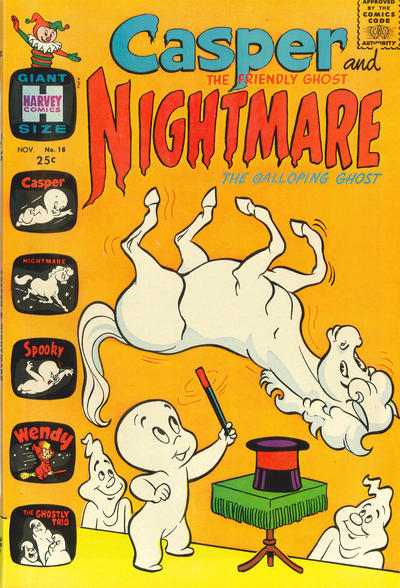 Cover for Casper & Nightmare (Harvey, 1964 series) #18