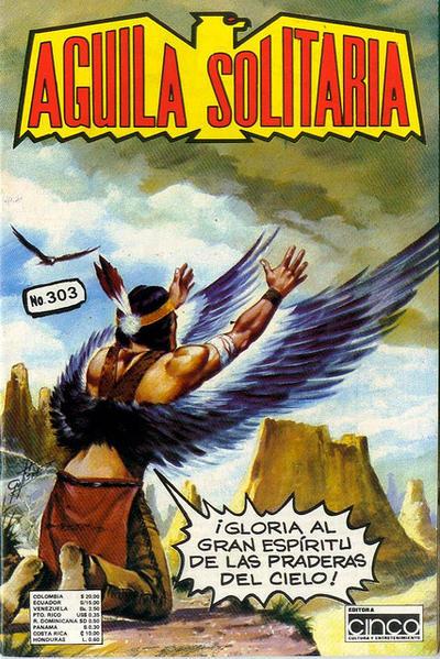 Cover for Aguila Solitaria (Editora Cinco, 1976 ? series) #303