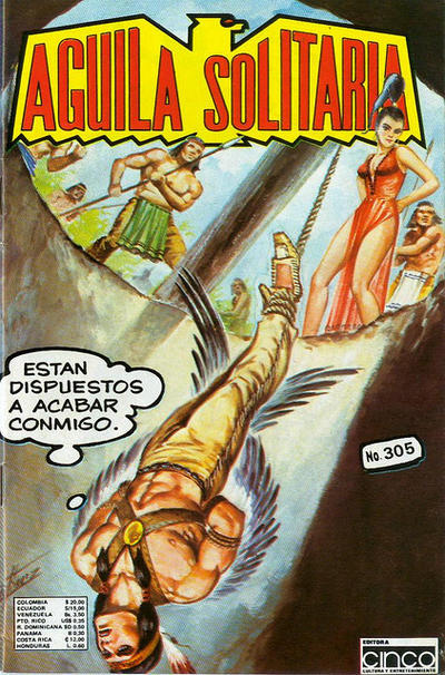 Cover for Aguila Solitaria (Editora Cinco, 1976 ? series) #305