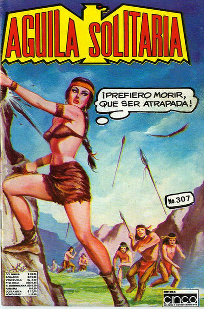 Cover for Aguila Solitaria (Editora Cinco, 1976 ? series) #307