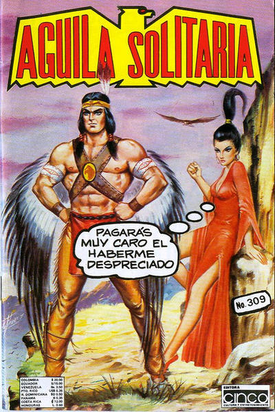 Cover for Aguila Solitaria (Editora Cinco, 1976 ? series) #309