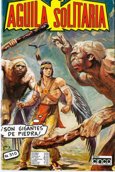 Cover for Aguila Solitaria (Editora Cinco, 1976 ? series) #310