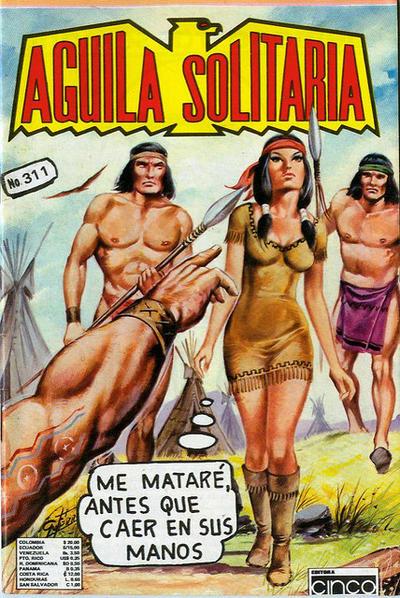 Cover for Aguila Solitaria (Editora Cinco, 1976 ? series) #311