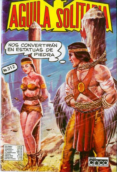 Cover for Aguila Solitaria (Editora Cinco, 1976 ? series) #312