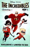 Cover Thumbnail for The Incredibles: Family Matters (2009 series) #1 [Mycomicshop.com Exclusive]