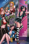 "Cover for Grimm Fairy Tales: Dream Eater Saga (Zenescope Entertainment, 2011 series) #6 [San Diego Comic-Con ""Night"" Exclusive]"