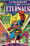 Cover Thumbnail for Eternals (1985 series) #1 [Newsstand]