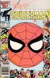 Cover for Web of Spider-Man (Marvel, 1985 series) #20 [Newsstand Edition]