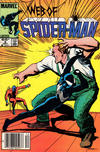 Cover for Web of Spider-Man (Marvel, 1985 series) #9 [Newsstand]