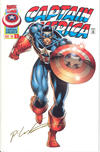 Cover for Captain America (Marvel, 1996 series) #1 [Gold Edition]