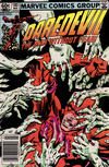 Cover for Daredevil (Marvel, 1964 series) #180 [Newsstand Edition]