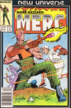 Cover for Mark Hazzard: Merc (Marvel, 1986 series) #2 [Newsstand]
