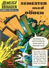 Cover for Hemliga brigaden (Williams Förlags AB, 1965 series) #5