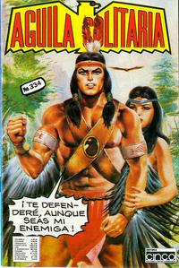 Cover for Aguila Solitaria (Editora Cinco, 1976 ? series) #334