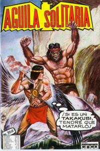 Cover Thumbnail for Aguila Solitaria (Editora Cinco, 1976 ? series) #356