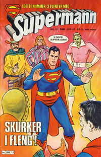 Cover Thumbnail for Supermann (Semic, 1977 series) #12/1980