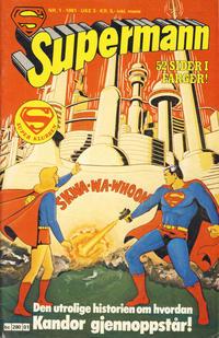 Cover Thumbnail for Supermann (Semic, 1977 series) #1/1981